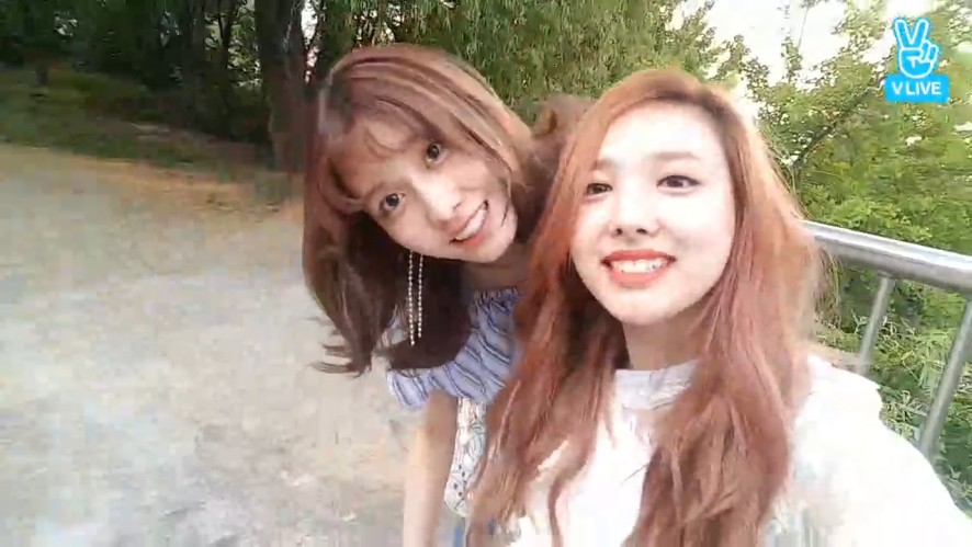 [TWICE] 〰️찌릿찌릿 복숭아즈 칭찬방이지🍑〰️ (Nayeon&MoMo's praising V)