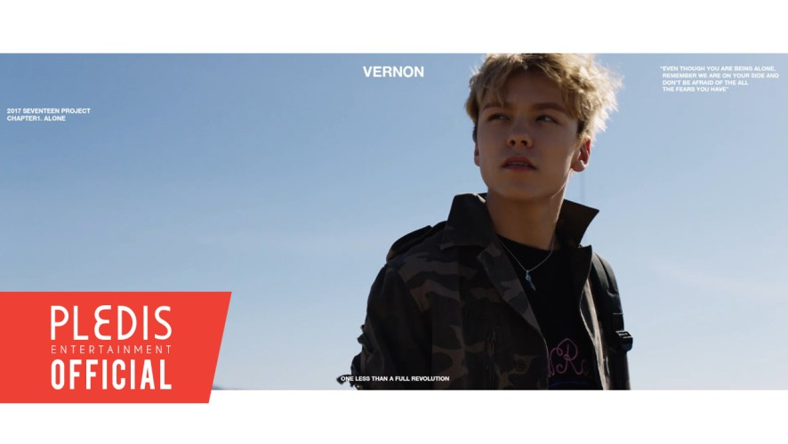 2017 SEVENTEEN Project Chapter1. Alone Trailer #Vernon