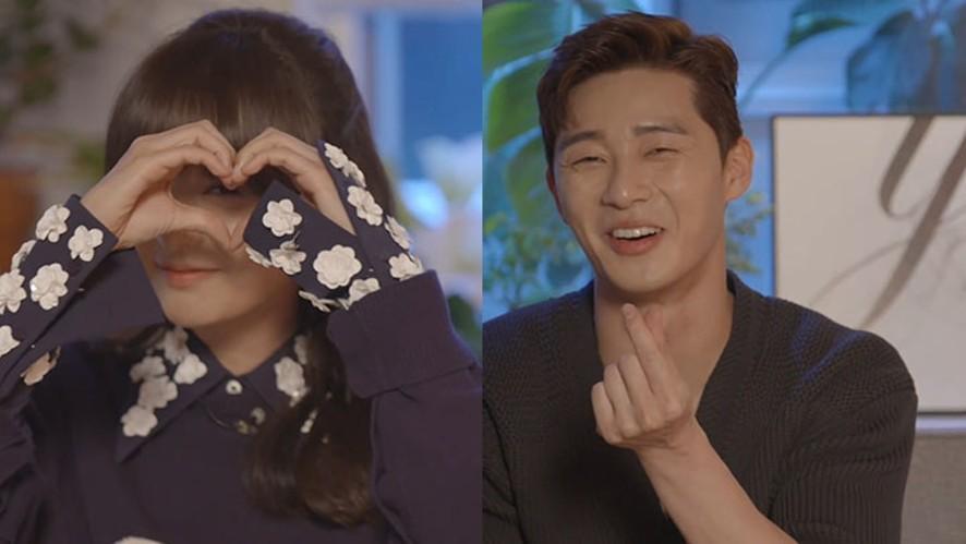 [V DRAMA] 쌈마웨 똥마니와 애라의 주사위 토크🎲 (Park Seo Jun and Kim Ji Won's dice talk)