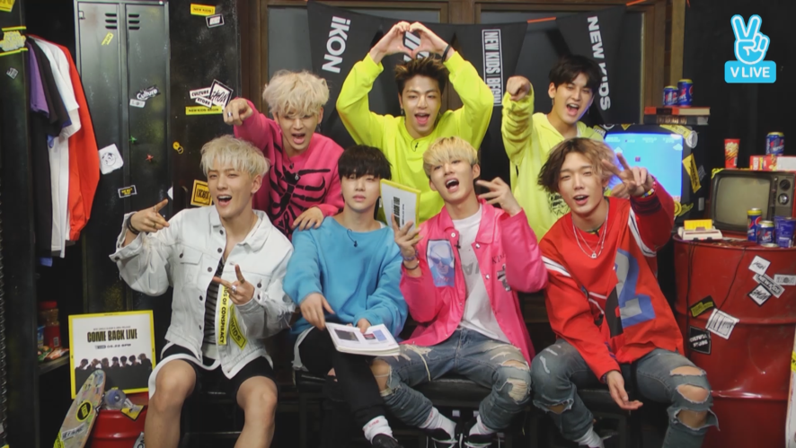 [REPLAY] iKON NEWKIDS:BEGIN COMEBACK LIVE