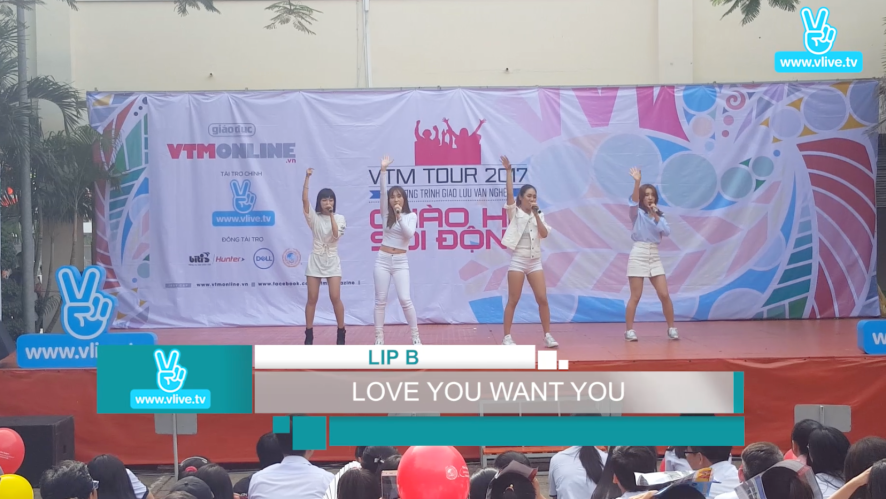 VTM Tour - LipB và Gin Tuấn Kiệt đến trường Võ Thị Sáu