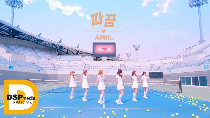 [Video] APRIL 2nd Single Album '따끔(Lovesick)' M/V