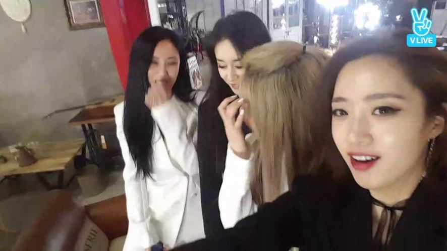 [T-ARA] 티아라 새앨범 자켓 촬영중 깜짝 라이브!!