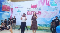 VTM Tour - Hương Giang Idol đến trường THPT Lương Văn Can