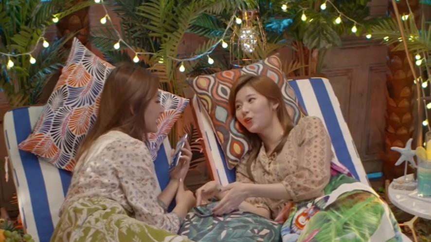 [TWICE] 사쯔 눕방 실제이야기냐?!?!! (Sana&Tzuyu's lovely LieV)