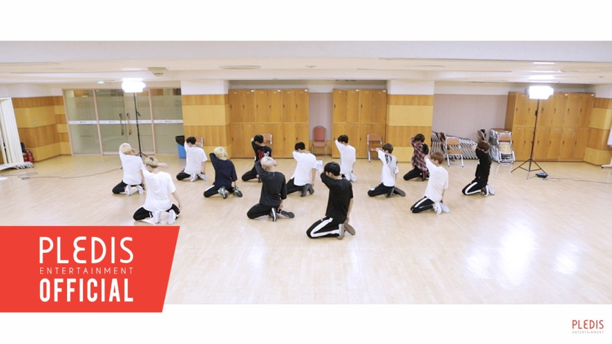 [Choreography Video] SEVENTEEN(세븐틴)-울고 싶지 않아(Don't Wanna Cry) Rearview Ver