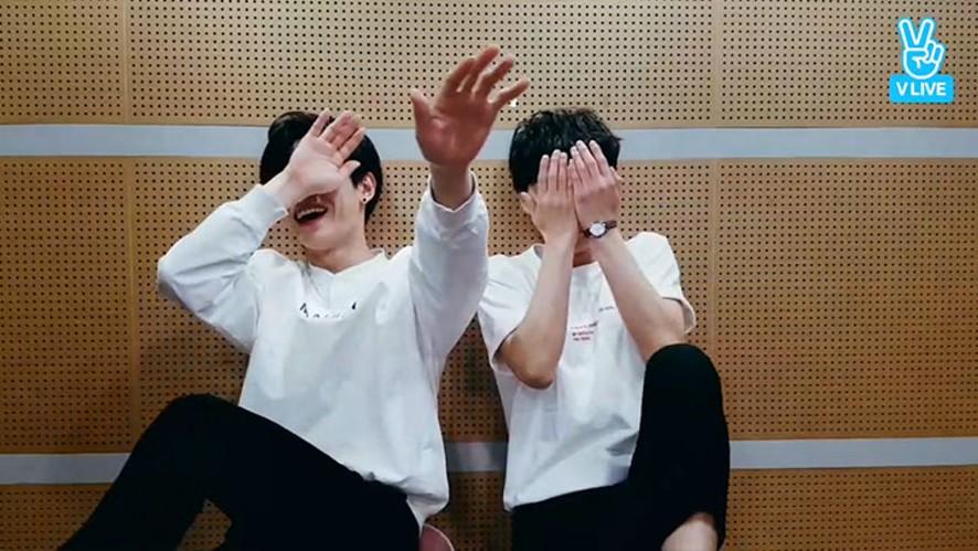 [HNB] 이 브이앱이 끝난 뒤 하는 말 우진영 조용근 미쳤지 (WOOJINYOUNG&JOYONGGEUN's first V live)