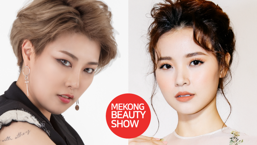 SSIN X Midu open makeup show @ Vietnam K-beauty Expo