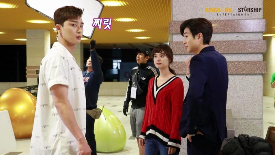 [선공개][배우 김지원] 케미남발 애라+동만+무빈 촬영현장!