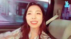 베리굿(berry good) - 이동중 깜짝 브이앱!!