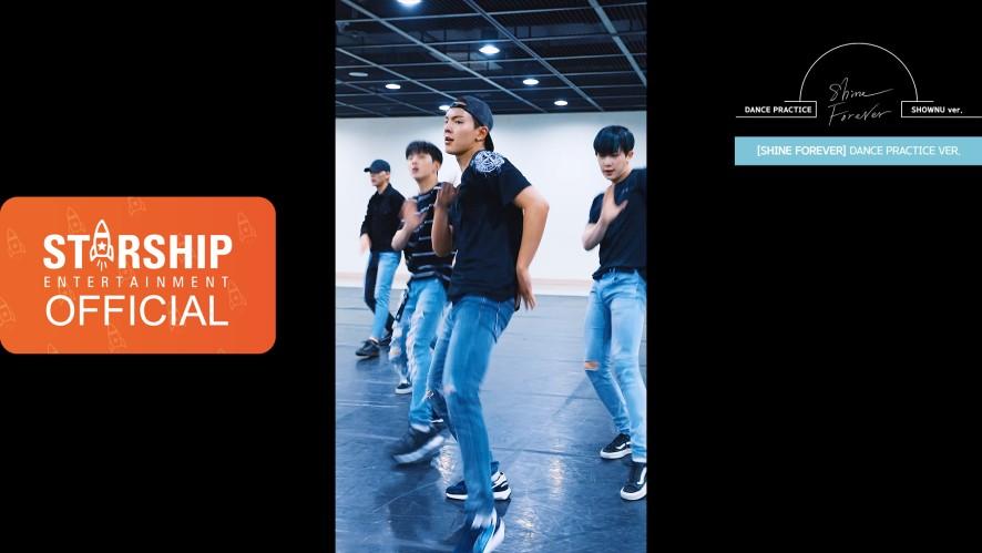 "[SHOWNU][Dance Practice] 몬스타엑스 (MONSTA X) - ""SHINE FOREVER"" Vertical Video"