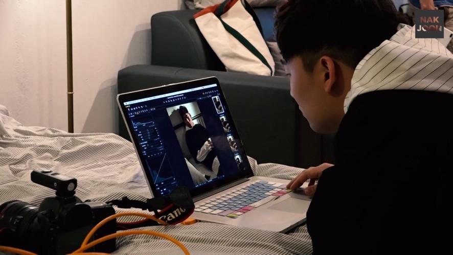 [포스트] 낙준 '탓' 자켓 촬영 비하인드