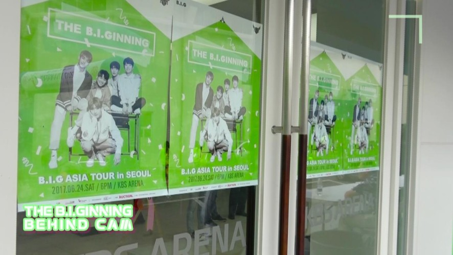 B.I.G(비아이지) ASIA TOUR in SEOUL CONCERT [The B.I.Ginning] BEHIND