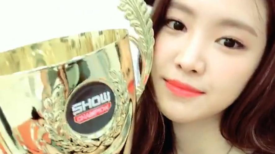 [Apink]  1위한 핑수니들이 다가와요와요와요와〰️💕(Apink got 2nd win!)
