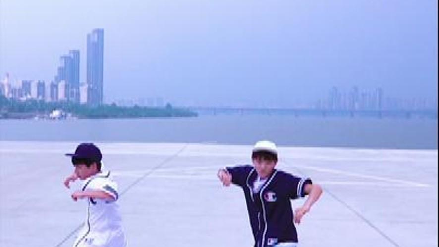 TheEastLight.(더 이스트라이트)Woojin & Sagang cutting shapes Video