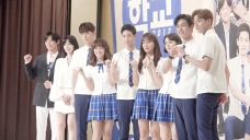 gugudan(구구단) - 세정 '학교 2017' 제작발표회 비하인드