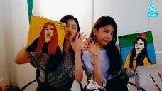 [gugudan] 세계적인 팝아트 아티스트적인 하나영🎨 (HANA&NAYOUNG drawing pop arts)
