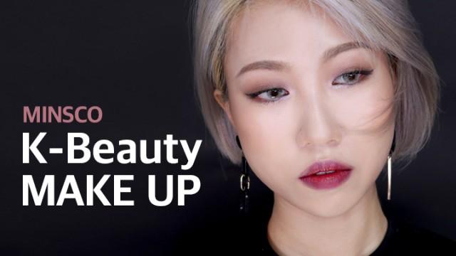 [Minsco_민스코] K-Beauty Makeup 최애 케이뷰티 메이크업