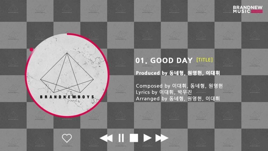 MXM(BRANDNEW BOYS) - GOOD DAY [Official Preview]