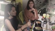 Chi Pu, Lan Ngọc nhịn đói nhìn đồ ăn ngay trước mắt ( BTS She Was Pretty - Vn Ver.)