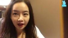 바이올리니스트 김봄소리의 자발적 v-live 맛보기
