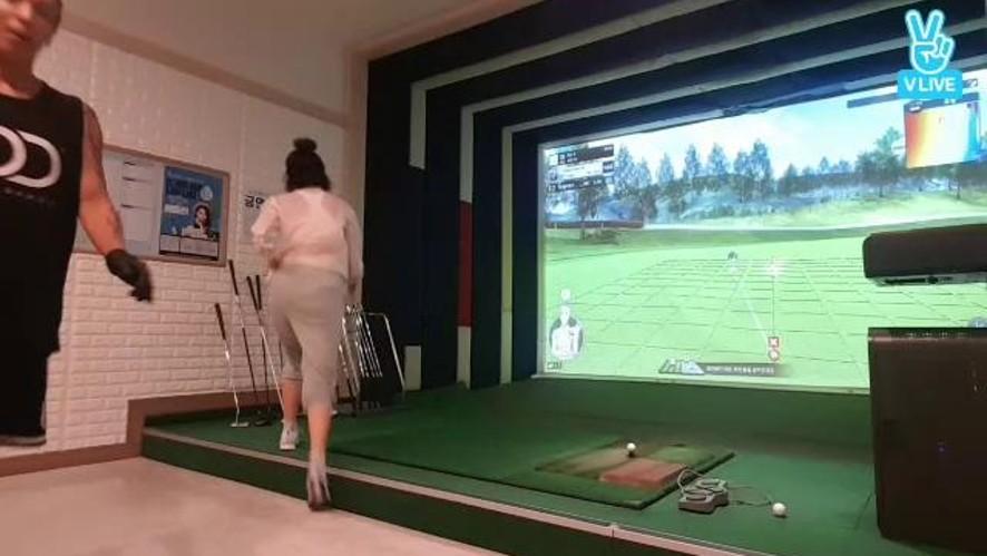 [제이블랙&마리] 골프 마지막홀 생중계