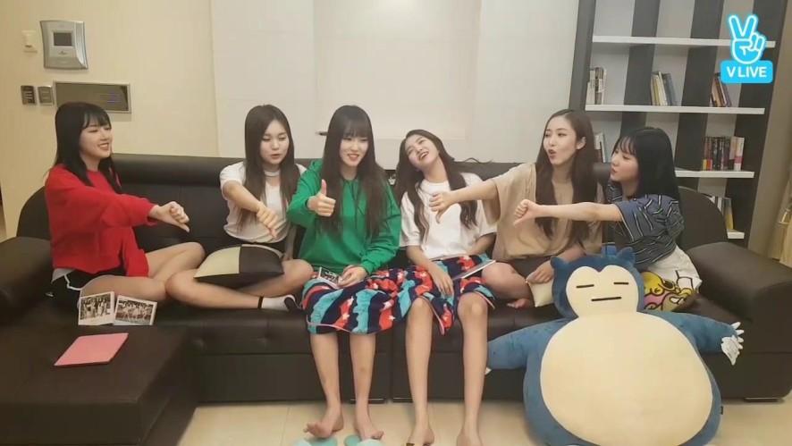 [GFRIEND] 요찌니들의 컴백얘기 없는 컴백방송 (feat. 마피아) (GFRIEND's Comeback V without comeback story)