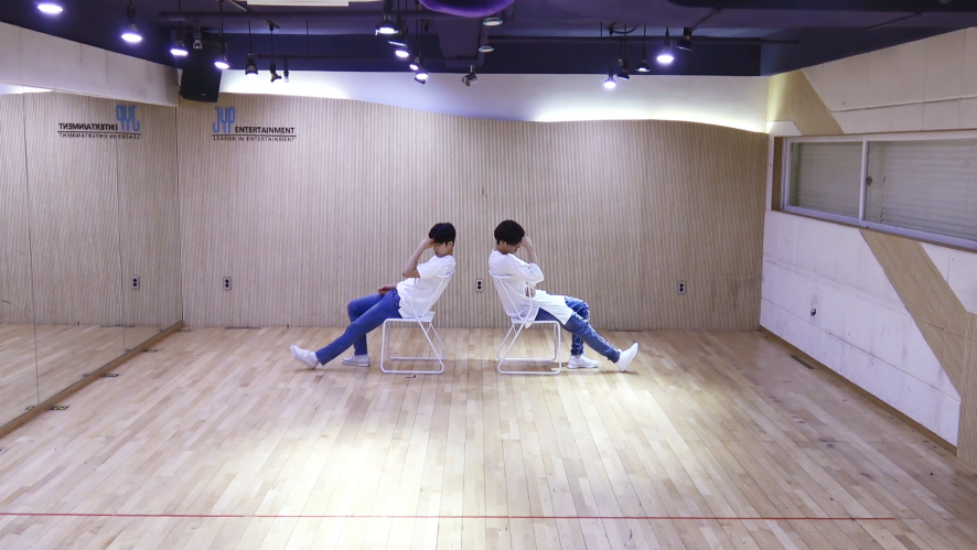 "JJ Project(제이제이 프로젝트) ""내일, 오늘"" Dance Practice"