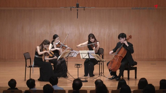"[Kumho Art Hall] ""The Years of Beethoven '17'20"" Kallaci String Quartet plays Beethoven 2"