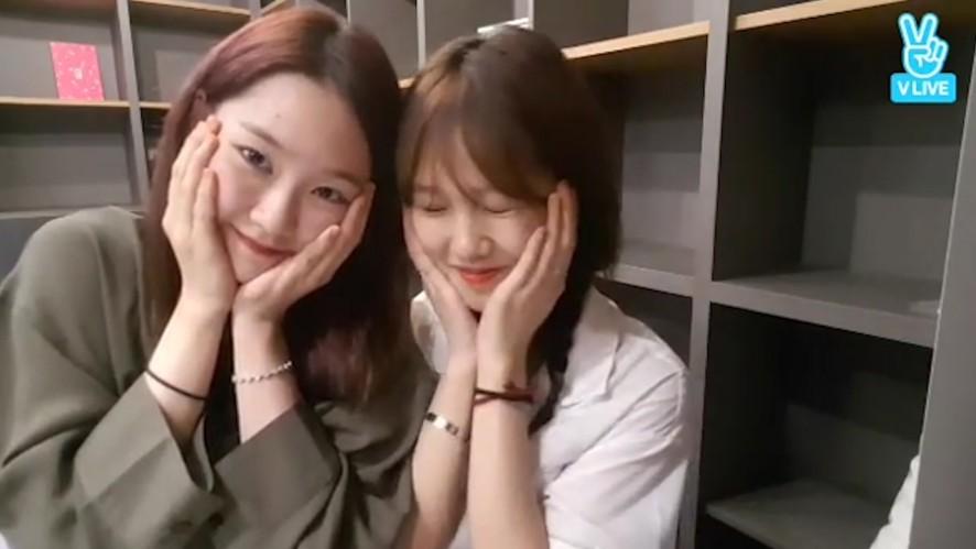[OH MY GIRL] 밈죠 넘 귀엽단말이다!🤣 (Mimi&Jiho's night talkshow)