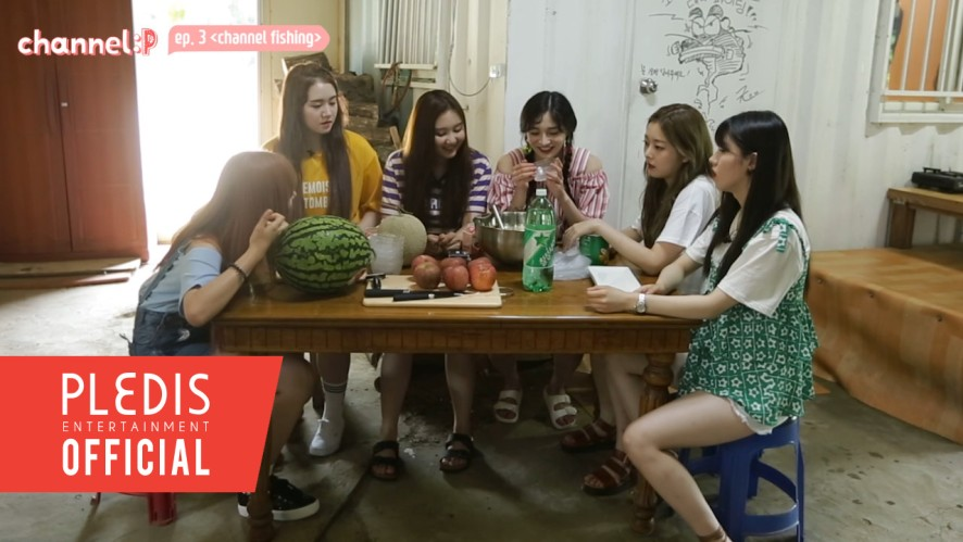 [PRISTIN] channel :P EP.3 - Channel Fishing