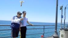 Ep. 14 SUHO & SEHUN Tour: LA Santa Monica Beach