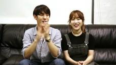 민혁&CHEEZE 녹음실 비하인드 및 인사말 영상