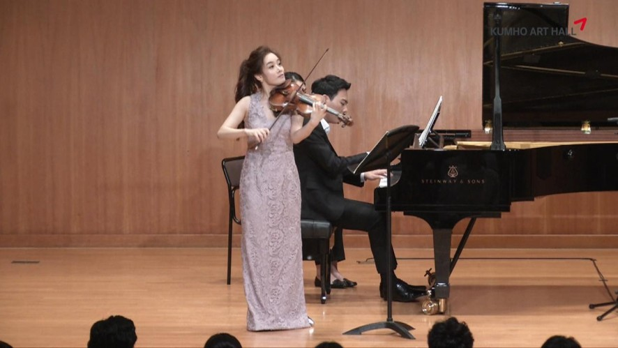 "[Kumho Art Hall]""The Violinists"" Bomsori Kim plays Schumann 2"