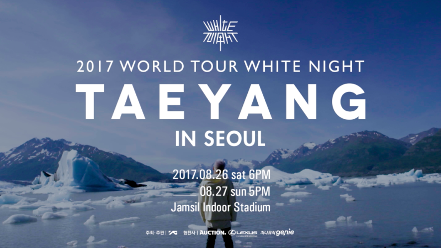 TAEYANG 2017 WORLD TOUR <WHITE NIGHT> IN SEOUL SPOT