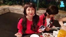 [ELRIS] 유경이가 빠진 쌈! 유빠쌈🌿(Yukyung eating YUBBASSAM)
