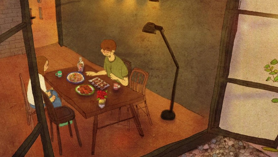 Animation : eating together
