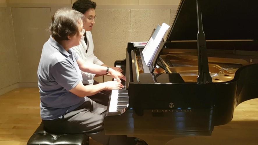 [예고2] 김정원X백건우 [V살롱콘서트] Julius Kim's V Salon Concert <Pianist KUN WOO PAIK>