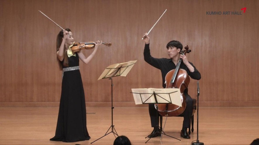 금호아트홀 상주음악가 문태국X장유진 Mozart Duo for Violin and Viola, K.423 (Performed on Violin and Cello)