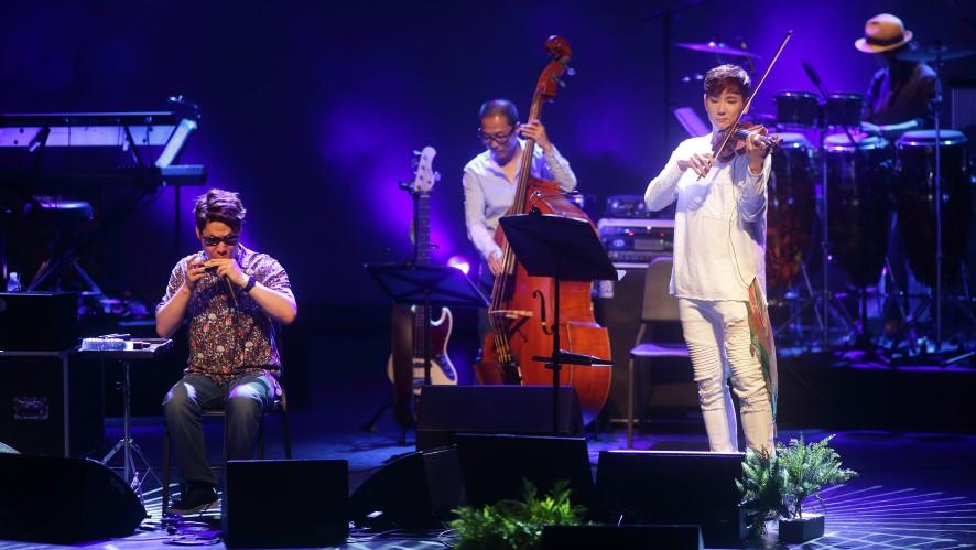 전제덕 Jeon Jeduk 하모니카 콘서트 'And so it goes' @ 마포아트센터 <왕좌의 게임 (game of thrones) main title> feat. KoN