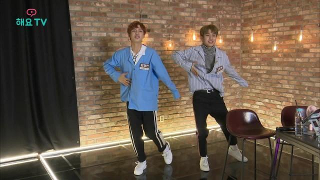 [MXM] 동현x영민 'I'M THE ONE' 포인트 안무는 '하트 춤' 바로 이거죠!  @아.작.쇼 170912