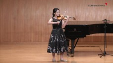 [금호아트홀]Young and Prodigy 김에셀 바이올린 / [Kumho Art Hall]Young and Prodigy Eshel Kim Violin