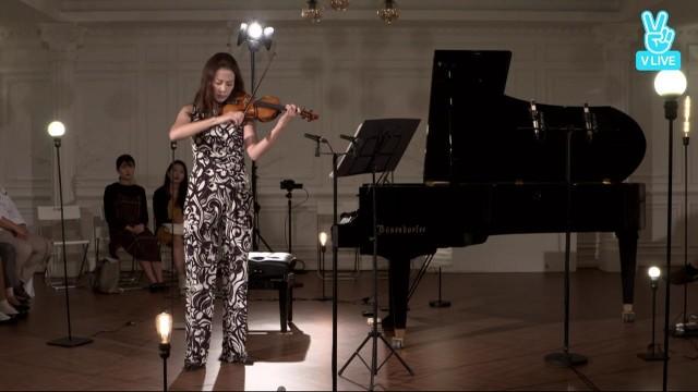 김정원의 V살롱 [바이올리니스트 클라라 주미강] N. Paganini Capice, Op.1 No.11