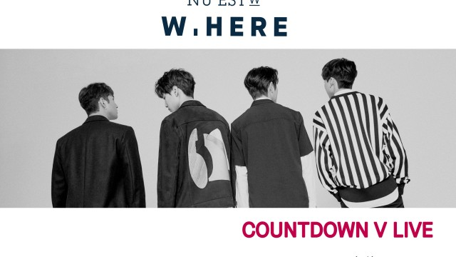 NU'EST W NEW ALBUM 'W, HERE' COUNTDOWN V LIVE