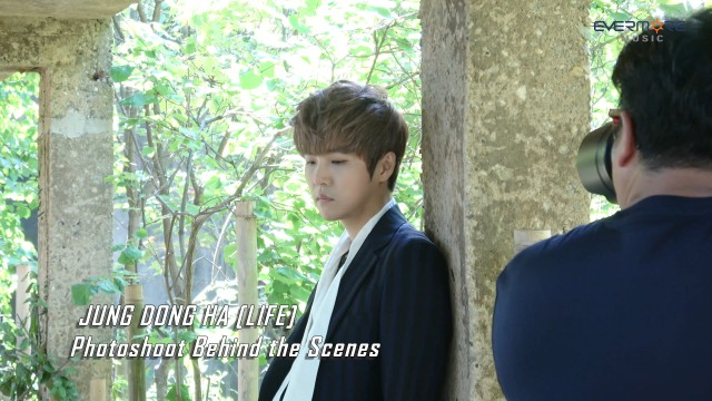 [JungDongHa] 정동하-'LIFE' Photoshoot Behind the Scenes