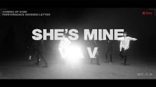 VAV(브이에이브이)_'She's Mine(쉬즈마인)' Warning Letter