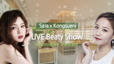 [SaraX Kongseuni]Live Beauty Show @ innisfree Vietnam