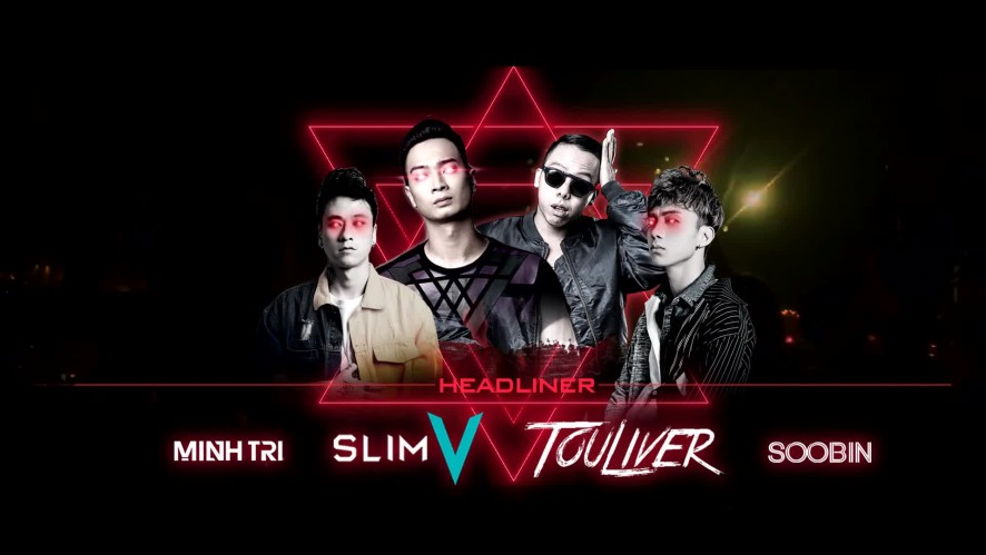 (Teaser) RED HALLOWEEN in Vietnam (Soobin, Slim V, Touliver)