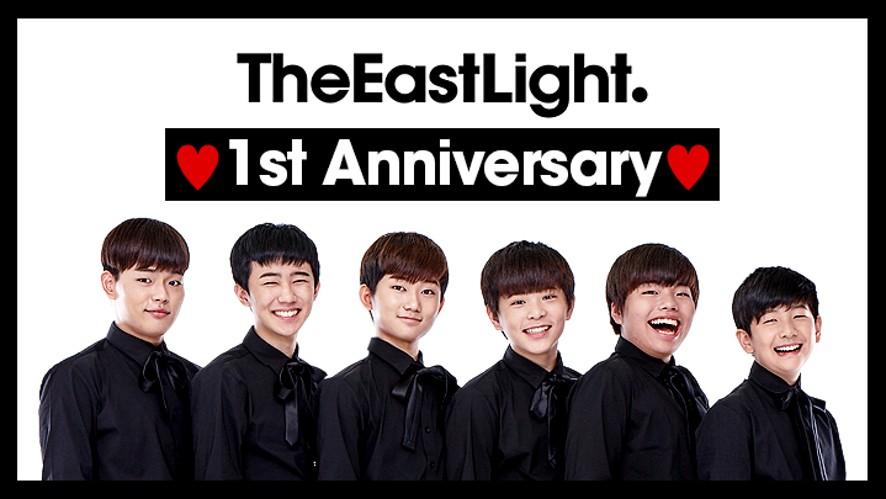 TheEastLight. 1st Anniversary Special Live(더 이스트라이트 데뷔 1주년 스페셜 라이브)