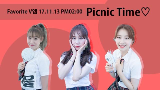 [Favorite] Picnic time♡